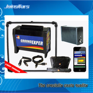 Gold Detector/Ground Exper Light/3D Scan Metal Detector (control unit, battery, 100cm coil + 2 bags + cellphone) pictures & photos