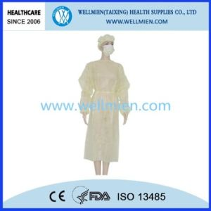 Non-Woven Disposable Protective Isolation Gowns pictures & photos