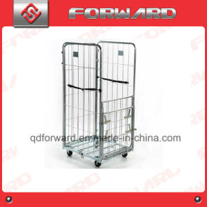 Foldable Moveable Warehouse Storage and Storage Cage Roll Container pictures & photos