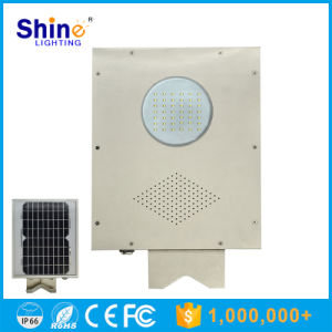 3m 4m Pole 5W LED Solar Sensor Street Lights pictures & photos