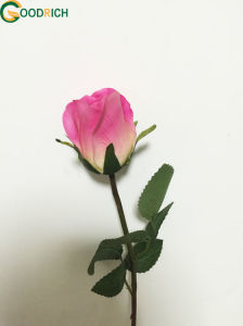Popular Rose Bud Artificial Flower pictures & photos