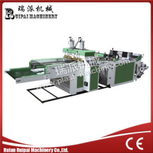 Two Lines High Speed Shopping Bag Machine pictures & photos
