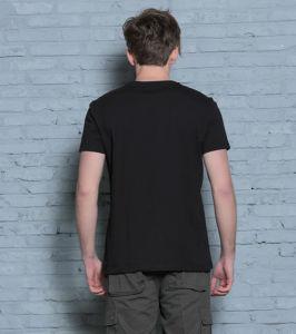 Guangzhou Factory Fashion High Quallity Black Rock Digital Printing Men T Shirt pictures & photos