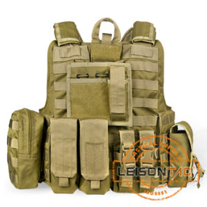 Ballistic Vest with Quick Release System Bulletproof Armor SGS Standard pictures & photos