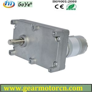 119m Base High Torque Low Speed Equipment and  Apparatus 12V-28V DC Flat Gear Motor