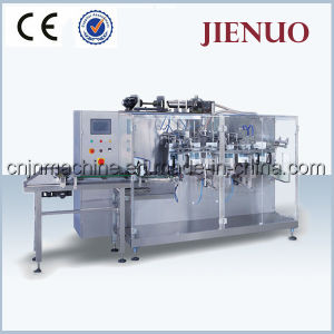 Horizontal Liquid Honey Ketchup Premade Pouch Packing Machine pictures & photos
