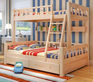 Solid Wooden Bed Room Bunk Beds Children Bunk Bed (M-X2215) pictures & photos