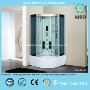 Modern Household Grey Glass Massage Shower Room (BLS-9848A) pictures & photos