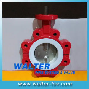 Split Body PTFE Lined Wafer Butterfly Valve pictures & photos