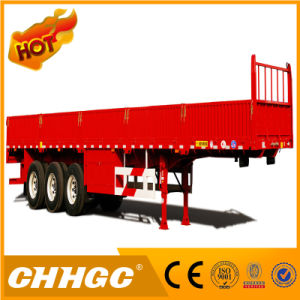 Fuwa Axle 3 Axles Fence Semi Trailer with Side Wall pictures & photos