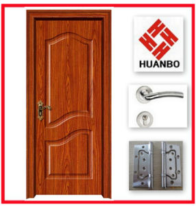 PVC MDF Wooden Interior Door Hot Design Hb-039