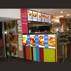 LED Light Box with Food Price List Menu Board for Kiosk Advertisng Display pictures & photos