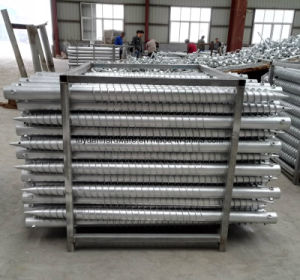 DIN Standard and Steel Material Helical Ground Screw pictures & photos