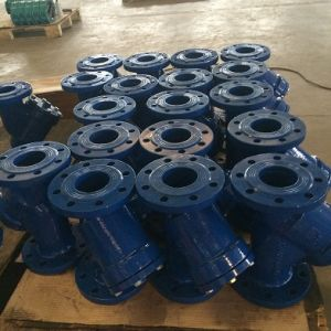 ANSI 150 Wcb Flanged Y-Strainer pictures & photos