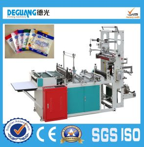 Heat Sealing Cold Cutting Plastic Bag Making Machine pictures & photos