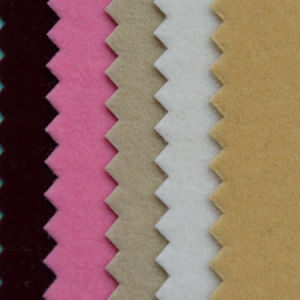 Non-Woven with Environmental Quality Velvet Bottom Flocking