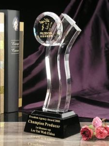 Freedom Star Crystal Award