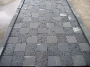 Light/Dark Lava Grey Basalt Paving/Wall Cladding Stone Tiles pictures & photos