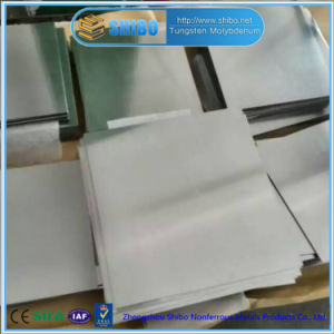 Factory Direct Supply Pure Molybdenum Sheet with Cold Rolled Surface pictures & photos