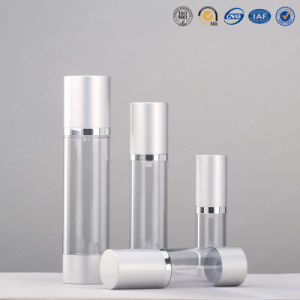 Cylinder Plastic Airless Lation Bottles pictures & photos