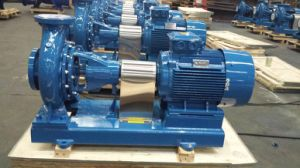 Single Stage Single Suction Centrifugal Pump with Motor pictures & photos