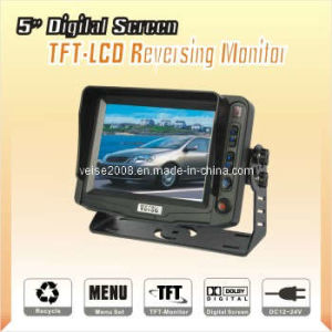 "5"" Digital TFT-LCD Color Monitor for Car with DC 11-32V (SP-527) pictures & photos"