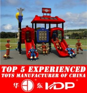 HD2013 Outdoor Fire Man Collection Kids Park Playground Slide (HD13-015B) pictures & photos