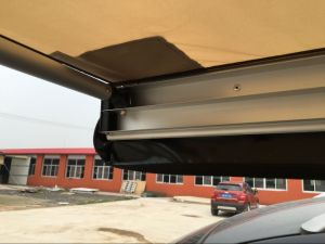 Foxwing Awning Polyester Rip-Stop Canvas, W/P W/R Roof Top Awning pictures & photos