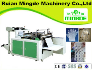 Automatic Plastic Disposable Gloves Making Machine, PE Glove Bag Making Machine, Disposable Polyethylene Glove Making Machine pictures & photos