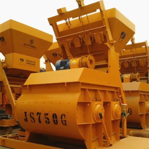 Js Series Double Horizontal Axle Concrete Mixer (JS750) pictures & photos