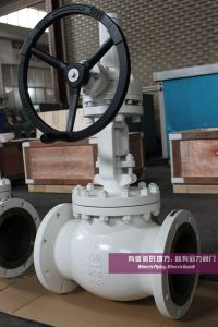 Carbon Steel ANSI Globe Valve, Flanged-ANSI 150 pictures & photos