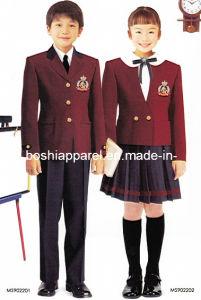 New Design School Uniform Coat for Winter -Su28 pictures & photos