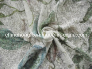 Hacci Aop 100%C 130GSM Printing Coarse Knitting Fabric for Lady Garment pictures & photos