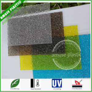 UV Coated High Quality PC Crystal Embossed Panels Polycarbonate Sheet pictures & photos