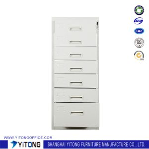 Yitong 7-Drawer Metal Storage Cabinet / Office Use Steel Movable Cabinet pictures & photos