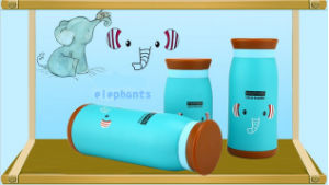 Children Elephants Design Heat Transfer Baby Water Bottles Printing Film pictures & photos