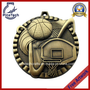 3D Relief Basketball Sports Medal Awards, Free Art Design pictures & photos