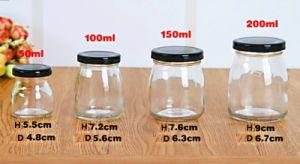 50ml 100ml 150ml 200ml Honey Glass Bottle with Screw Cap pictures & photos