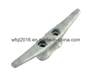 Cast Dock Cleat with Galvanized Finish