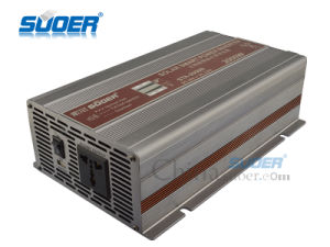 Suoer 2000W Modified Sine Wave Inverter 24V Power Inverter (STA-2000B) pictures & photos