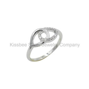Fashion Sterling Silver Jewelry CZ Ring (KR3069) pictures & photos
