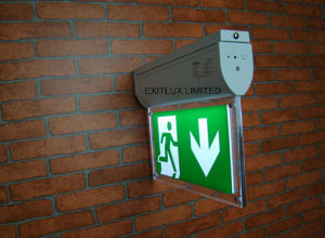 LED Fire Exit Sign with Self-Test pictures & photos