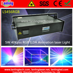 5W Full-Color RGB Night Club DJ Laser Show Lighting pictures & photos