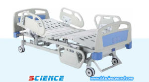 Luxurious Electric Hospital Bed Three Functions with Flexible Connection pictures & photos