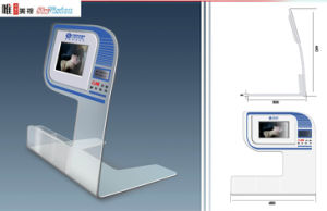 Acrylic Video POS Display pictures & photos