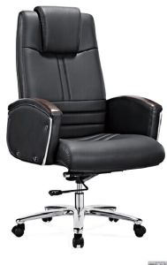 Foshan Genuine Leather Executive Ergonomic Office Chair