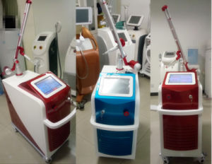 Vertical Q-Switch ND YAG Laser Tattoo Removal Machine (OW-D2) pictures & photos