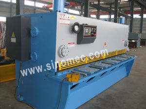 Guillotine Shear / Cutting Machine / Hydraulic Shearing Machine (QC11Y-8X3200) pictures & photos
