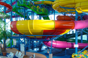 Super Bowl Special Fiberglass Water Slide, Aqua Park Equipment pictures & photos