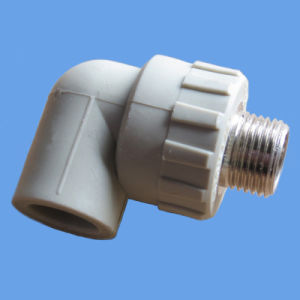 90deg Elbow PPR Male Thread Fitting for Water Supply pictures & photos